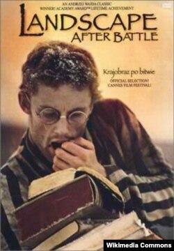 """Andrzej Wajdanın """"Döyüşdən sonrakı mənzərə"""" filminin posteri."""