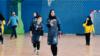 Afghanistan - Homaira Barakzai, captain of the Afghan women's handball team, speaks about Taliban ban on women in sport - screen grab