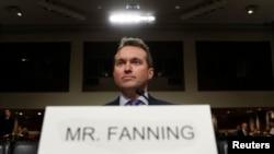 Эрык Фэнінг падчас абмеркаваньня кандыдатуры ў Сэнаце. Фота: Kevin Lamarque, Reuters