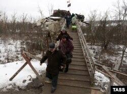 Пропускной пункт «Станица Луганская», 25 января 2017 года