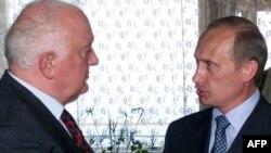 Յալթա, օգոստոս, 2000 թ. - Ռուսաստանի եւ Վրաստանի նախագահներ Վլադիմիր Պուտին եւ Էդուարդ Շեւարդնաձե