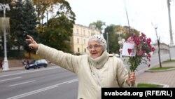 Sîmbăta, tradțional, este ziua protestului femeilor împotriva alegerilor prezidențiale, Minsk, 10 octombrie 2020
