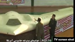Footage of the RQ-170 Sentinel high-altitude stealth drone was shown on Iranian state TV.
