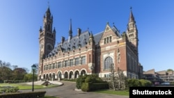 Netherlands -- International court of justice in Hague