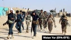 Афганські військові у провінції Герат, жовтень 2017 року