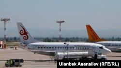 Международный аэропорт «Манас» в Бишкеке.