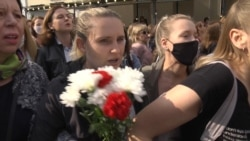 Police Crack Down On Women's Protest In Minsk