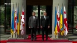 Georgian, Ukrainian Presidents Agree To Boost NATO, EU Efforts