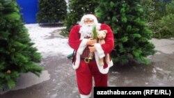 Aşgabatdaky Täze Ýyl bazarlary