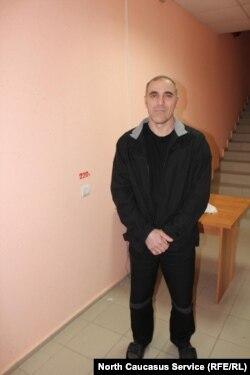 Исса Хашагульгов в колонии