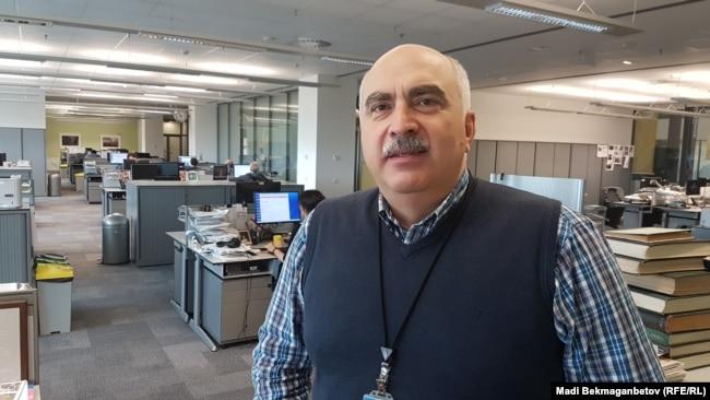 Директор Грузинской редакции Азаттыка Давид Какабадзе.