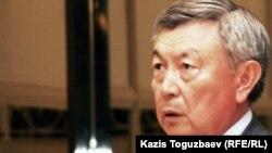 Председатель комитета национальной безопасности (КНБ) Казахстана Нуртай Абыкаев.