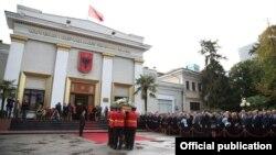 Funerali para Kuvendit të Shqipërisë