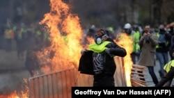 Беспорядки в Париже 1 декабря 2018 года.