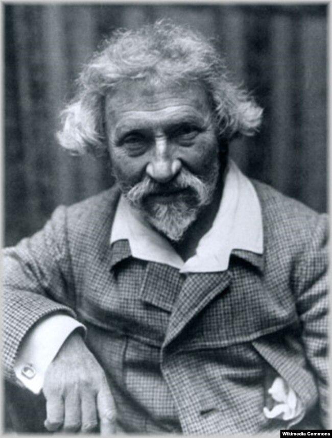 Український художник-живописець Ілля Рєпін (Ріпин). Світлина 1900-х років