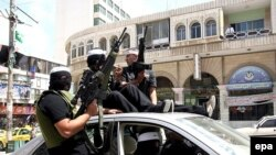 محمود عباس دولت وحدت ملی را منحل و در مناطق فلسطينی اعلام وضعيت فوق العاده کرد