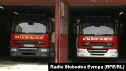 Пожарникарски возила во Прилеп.