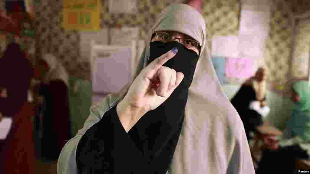 Egipat - Predsjednički izbori, Kairo, 23. maj 2012. Foto: Reuters / Suhaib Salem