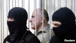 Алексей Пукач в киевском суде (архив)