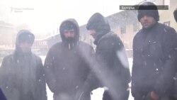 Мигрантите во Белград на -10 степени