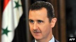 Сирия президенті Башар Асад АҚШ-тың CBS телеарнасына сұхбат беріп отыр. 9 қыркүйек 2013 жыл.
