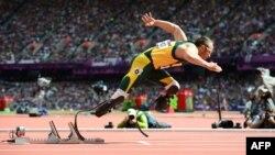 Оскар Писторуис 400 метрге чуркоодо. Лондон Олимпиадасы, 4.08.2012