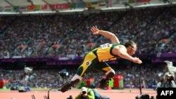Оскар Писториус Лондон Олимпиадасында. 4-август, 2012-жыл.