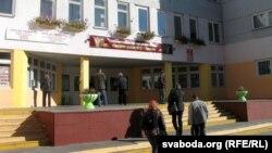Сярэдняя школа №57 Гомеля, дзе адбылася сустрэча