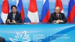 Russian, Japanese Leaders To Meet In Vladivostok Amid Disagreements Over North Korea Sanctions