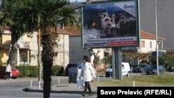 Антинатовська пропаганда у Чорногорії