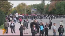 Бишкек: кошоктошкон митингдер
