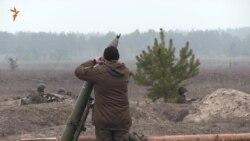 Курсанти-нацгвардійці вперше вчилися стріляти із 120-міліметрового міномета (відео)