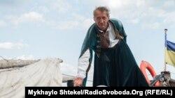 Фоторепортаж: Одеська регата з козацькою чайкою «Спас»