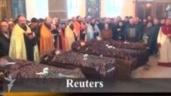 Etirazçılar rus əsgəri Permyakovun Ermənistanda mühakimə olunmasını tələb edilər