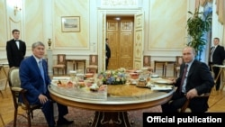 Фото пресс-службы президента КР.