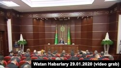 Türkmenistanyň Konstitusion toparynyň mejlisi. 29-njy ýanwar, 2020.