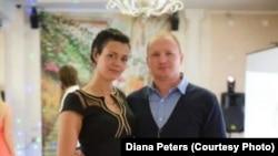 Супруги Диана и Евгений Петерс