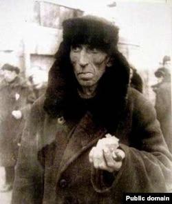 Житель блокадного Ленинграда