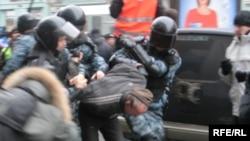 «Razı Olmayanların Yürüşü», Moskva, 24 noyabr 2007