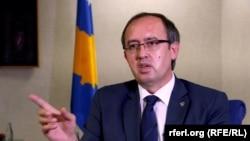 Kryeministri në detyrë i Kosovës, Avdullah Hoti.
