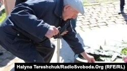 Серед тих, хто вшанував День перемоги 9 травня були троє ветеранів, які воювали у Червоній армії