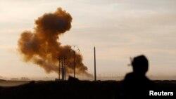 معارك قرب منطقة العلم في 7 آذار 2015