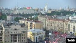 """""""Марш миллионов"""" в Москве, 6 мая 2012"""