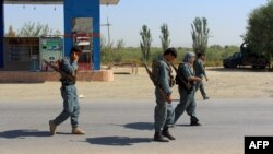 The border police were reportedly killed when Taliban fighters attacked a checkpoint in the northern province of Kunduz. (file photo)