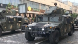 Ukrainian Military Rehearses For Upcoming 30th Anniversary Independence Day Parade