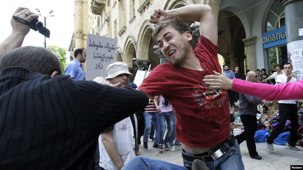 Защита секс меньшинств в грузии