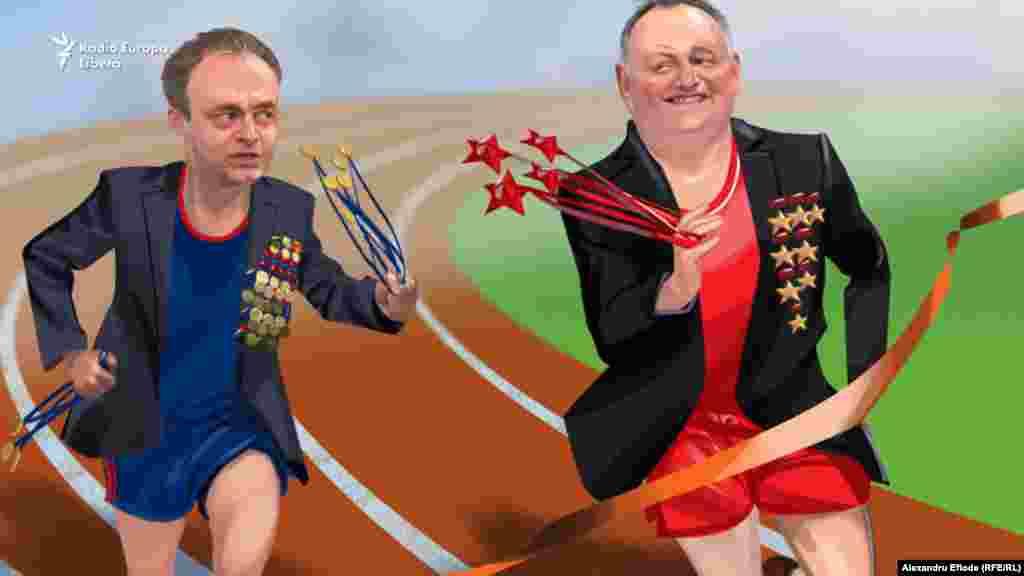 Spicherul Candu a intrat în competiție cu președintele Igor Dodon, diluându-i puțin monopolul acordării de medalii.