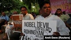Protesti zbog zločina nad Rohindžama