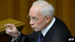 Николай Азаров, нахуствазири Украина