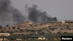 В результате турецких обстрелов погибли мирные жители и бойцы курдских вооружённых формирований